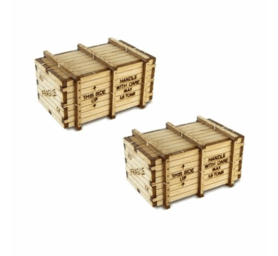 Bachmann : HO Machinery Crates