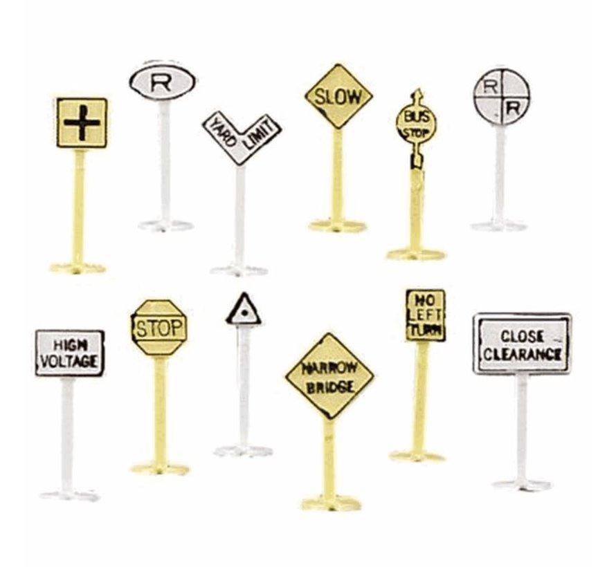 Bachmann : N RR & Street signs