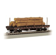 BACHMANN BAC-18332 - Bachmann : HO ACF Log Car w/Logs '06-35