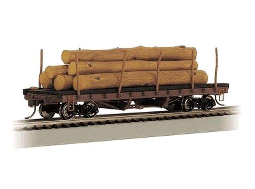 BACHMANN BAC-18332 - Bachmann : HO ACF Log Car w/Logs '06-35
