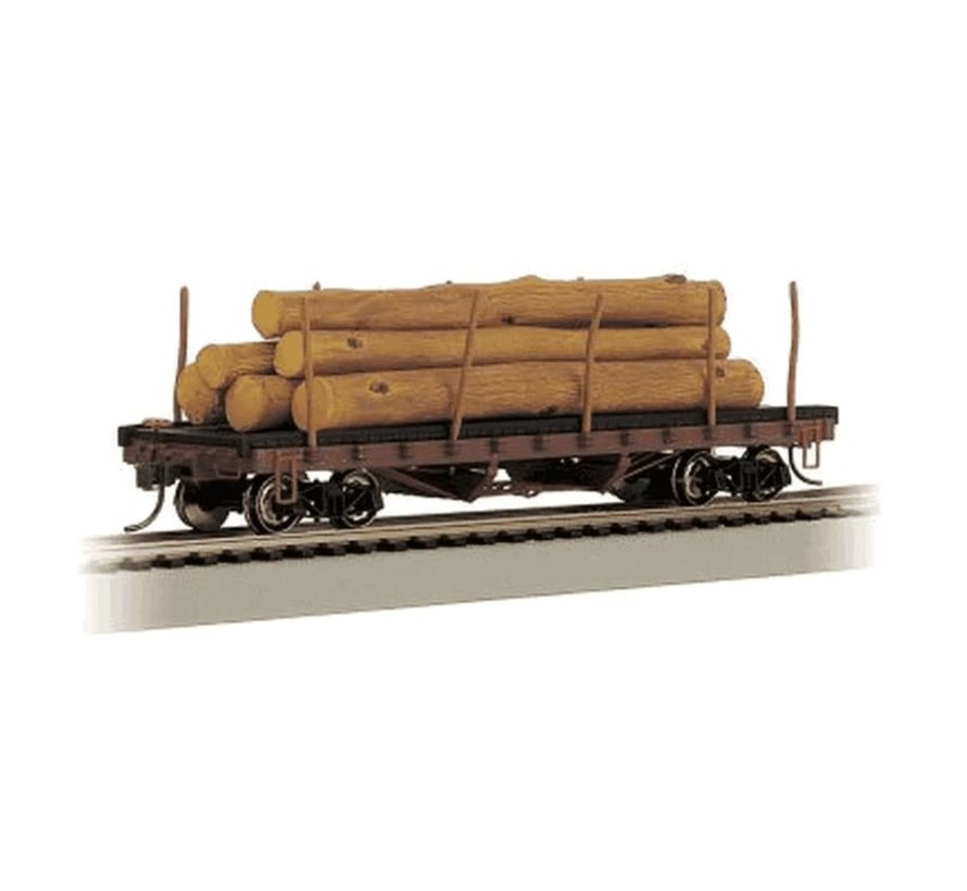 Bachmann : HO ACF Log Car w/Logs '06-35