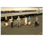 BACHMANN Bachmann : HO Figure Passengers