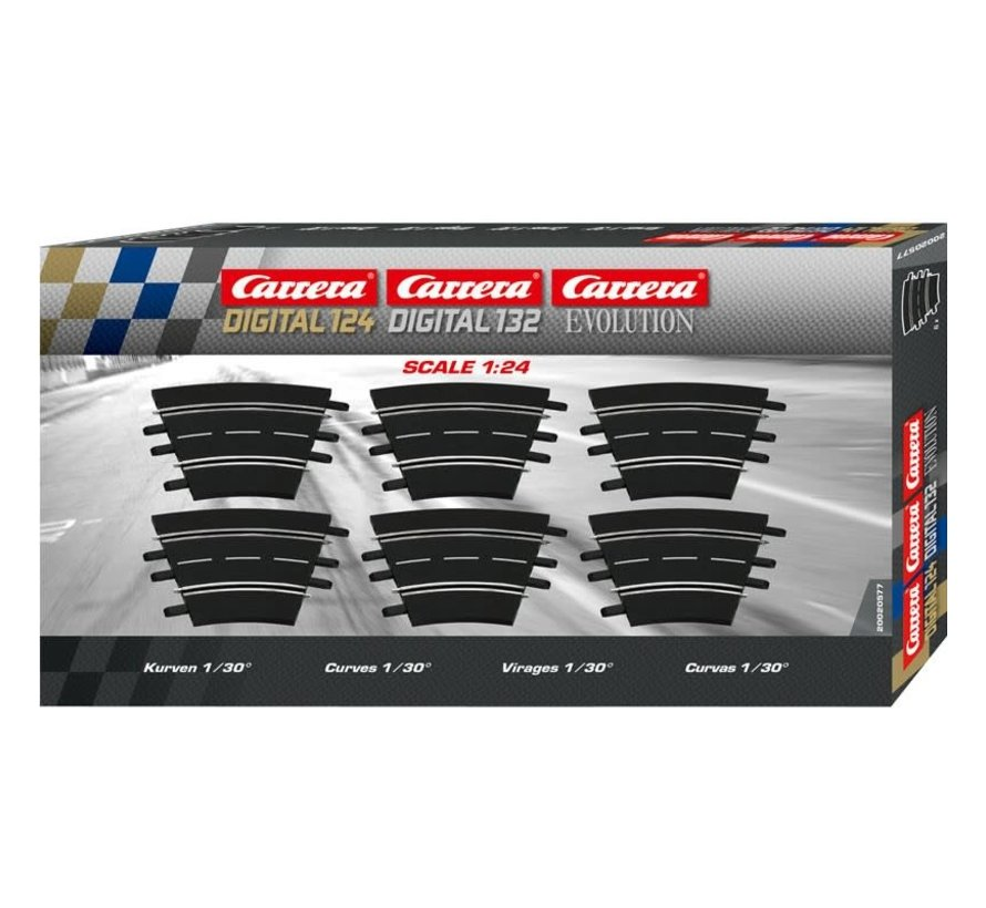 Carrera : Track Curves 1/30
