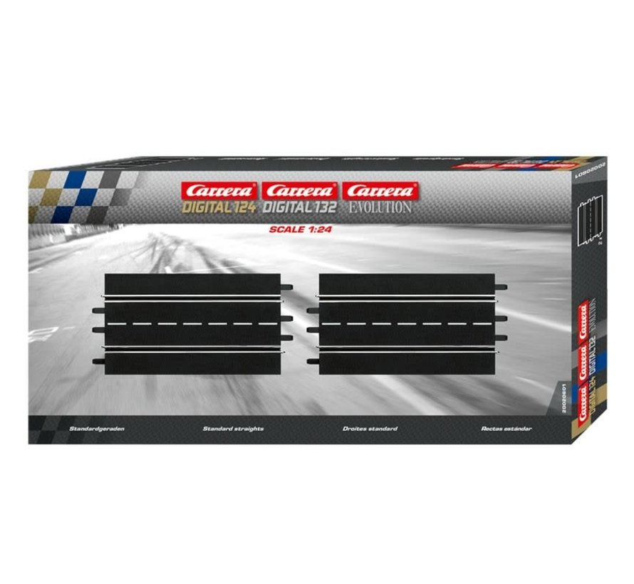 Carrera : EV Standard Straight (2pcs)