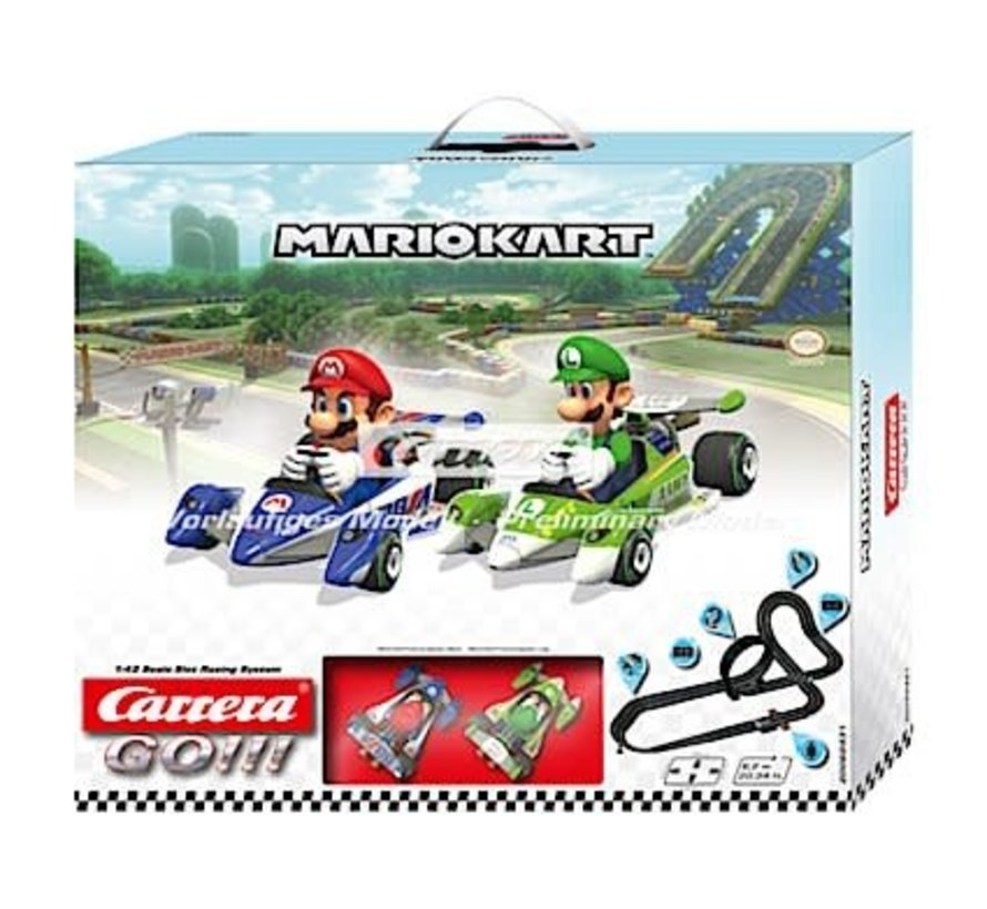 Carrera : GO Mario Kart SET