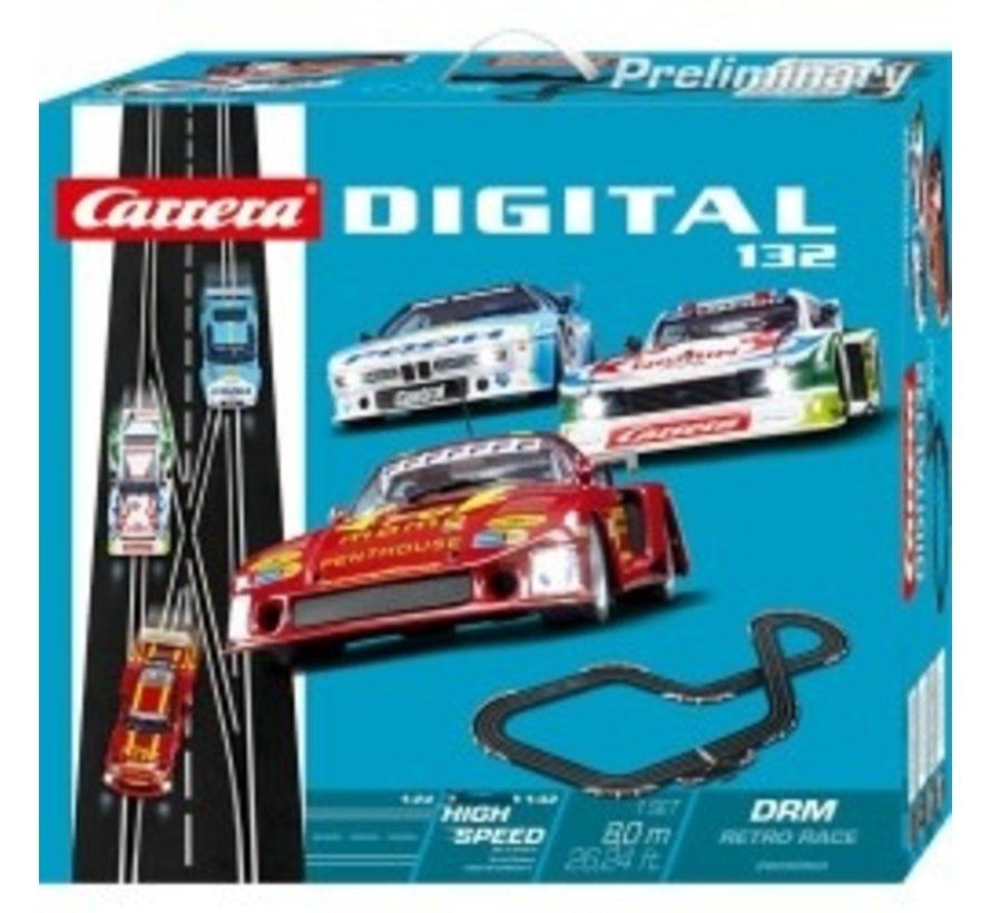 Carrera : DIG132 DRM Retro Race SET