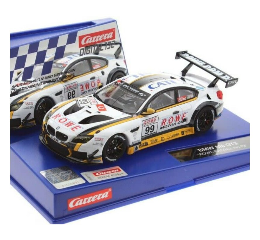 "Carrera : DIG132 BMW M6 GT3 ""Rowe Racing, No.99"""