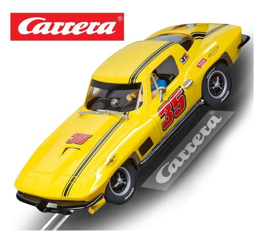 "Carrera : DIG132  Chevrolet Corvette Sting Ray ""No.35"","