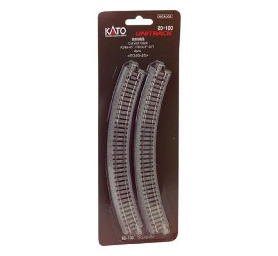 Kato : N R249-45 Curves