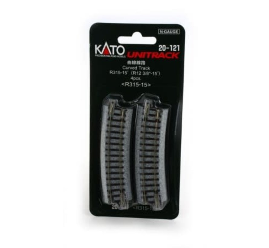 Kato : N Track R315-15 Curve