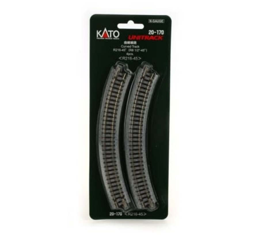 Kato : N Track R216-45 Curve