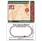 KATO KAT-208-501 - Kato : N Track Set Oval M1 w/power