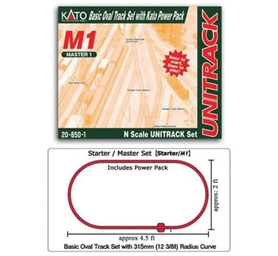 Kato : N Track Set Oval M1 w/power