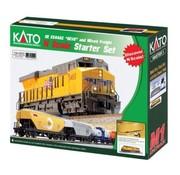 KATO Kato : N UP ES44AC Freight Starter Set
