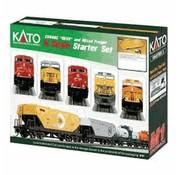 KATO KAT-106-0024 - Kato : N BNSF ES44AC Freight Starter Set