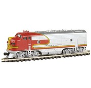 KATO Kato : N F7A Diesel SF Super Chief w/DCC