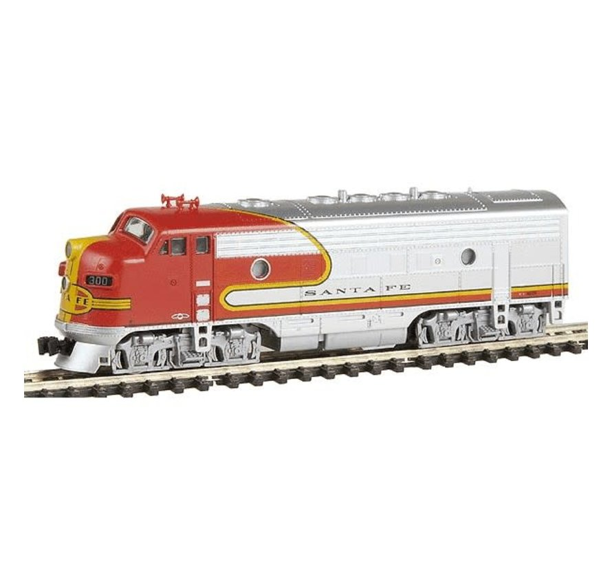 Kato : N F7A Diesel SF Super Chief w/DCC
