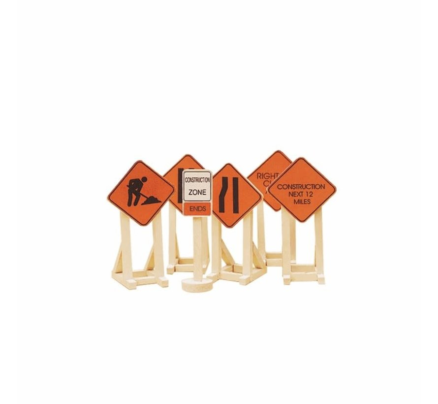 Lionel : O Construction Zone Signs