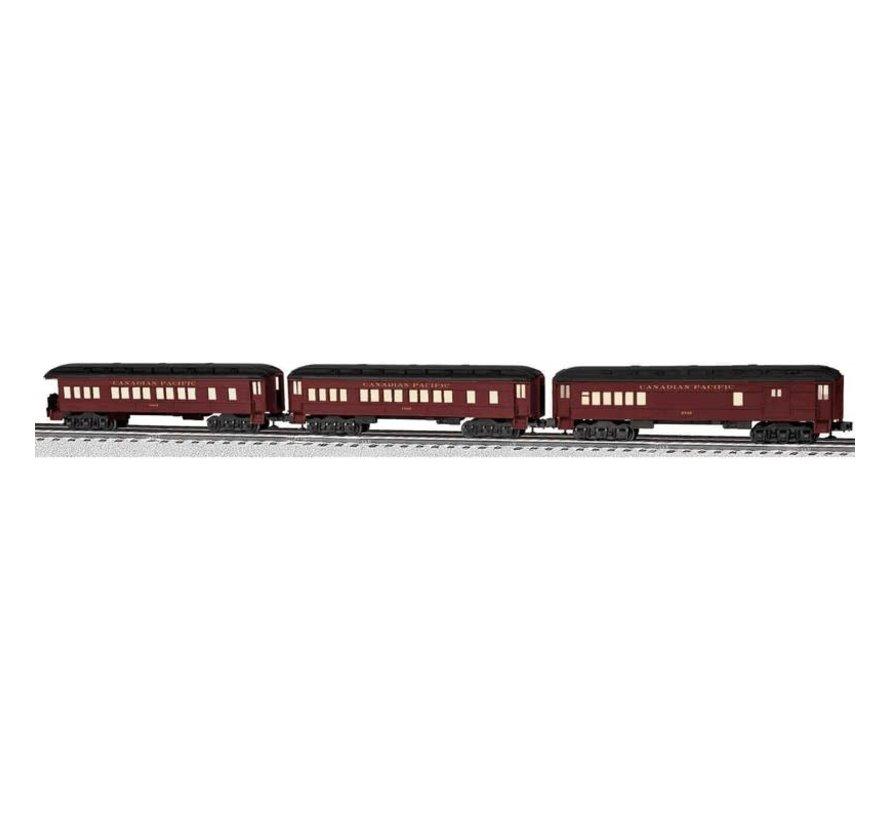 Lionel : O CP Madison 3-car