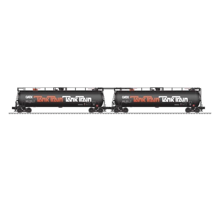 Lionel : O Tank Train 2pk w/EOT - orange