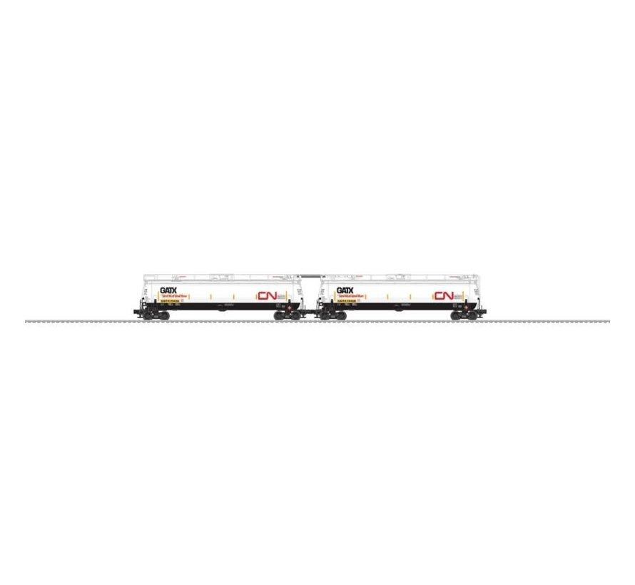 Lionel : O CN Tank Train 2pk w/EOT