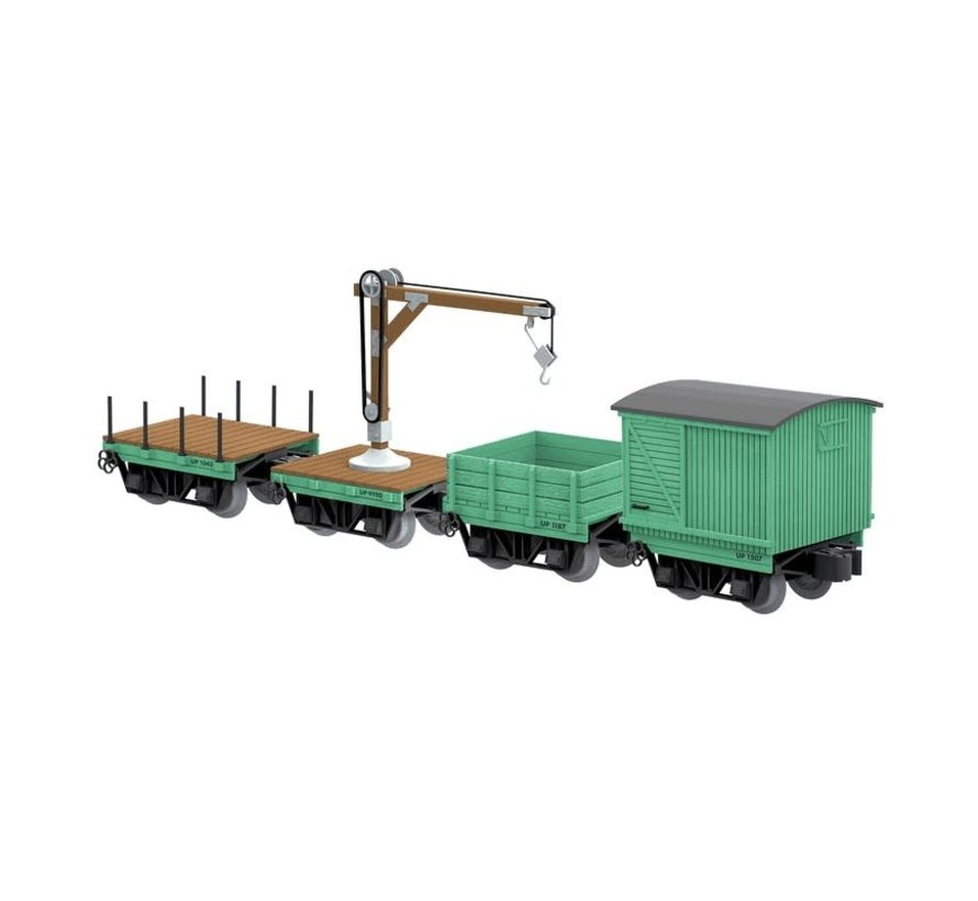 Lionel : O UP Work cars (4)