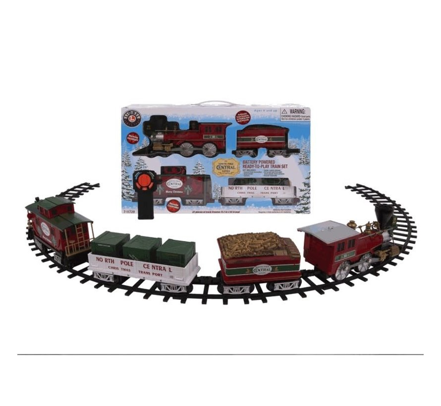 Lionel : RtP North Pole Central Ready-to-Play Freight Set