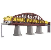 MTH MTH : O Steel Bridge Rust (New)