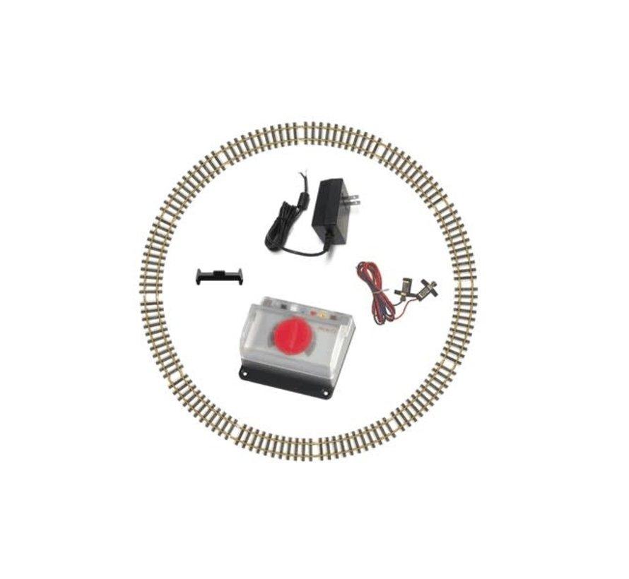 PIKO : G WP&YR Freight Starter Set (Smoke&sound)