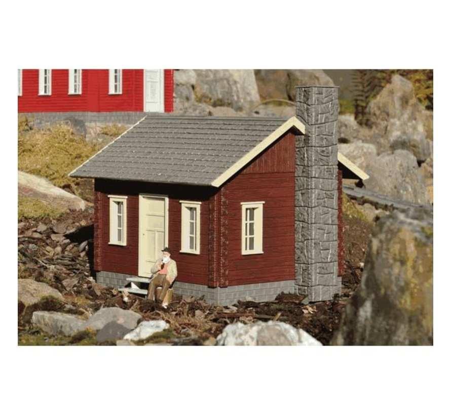 PIKO : G River City Tommy's Cabin Built-up