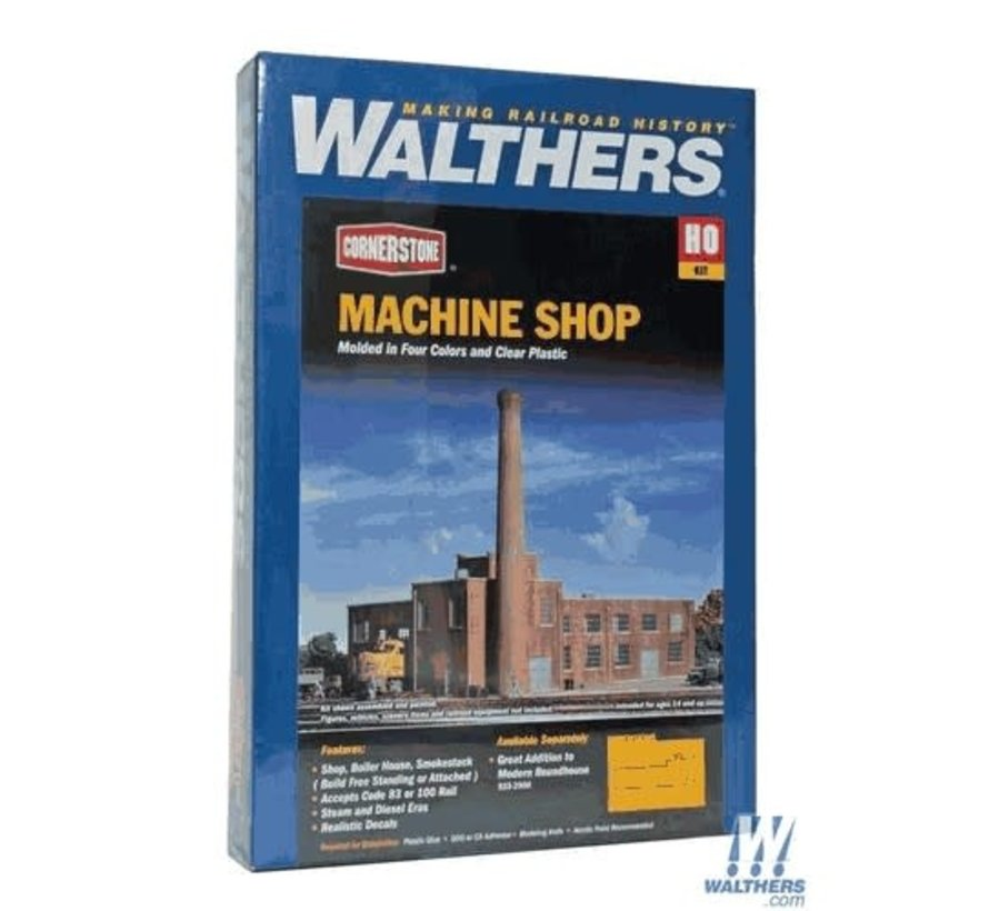 Walthers : HO Machine Shop Kit