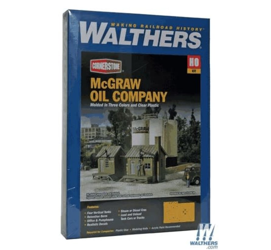 Walthers : HO McGraw Oil Company