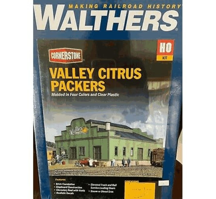 Walthers : HO Valley Citrus Packers