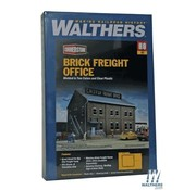 WALTHERS WALT-933-2953 - Walthers : HO Brick Freight Office