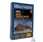 WALTHERS WALT-933-2954 - Walthers : HO Brick Freight House