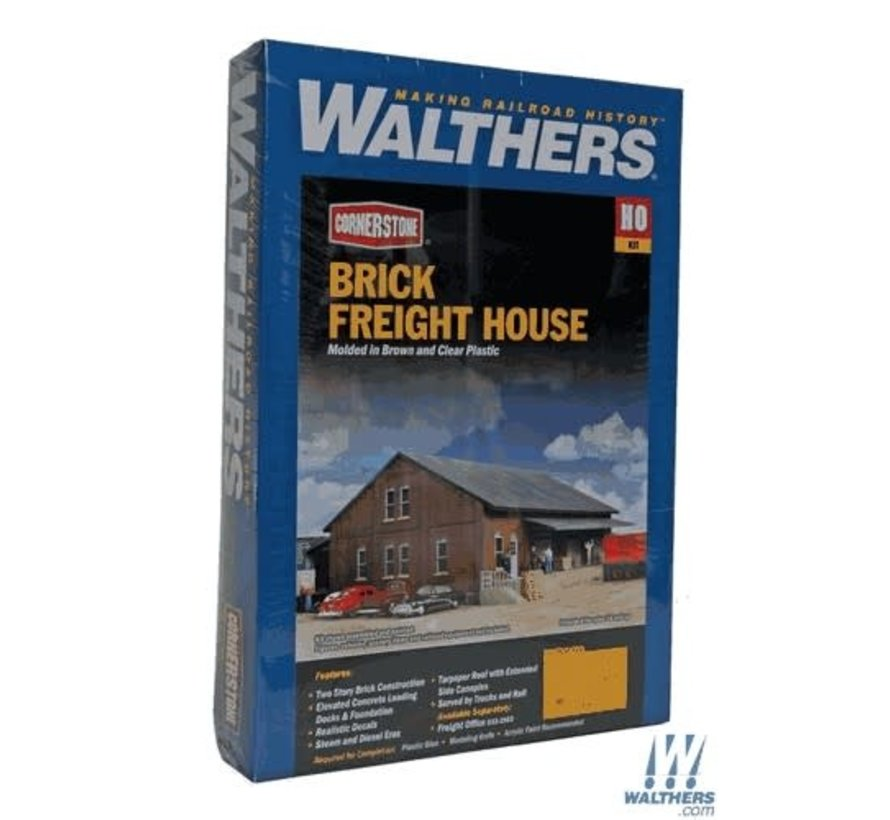 Walthers : HO Brick Freight House