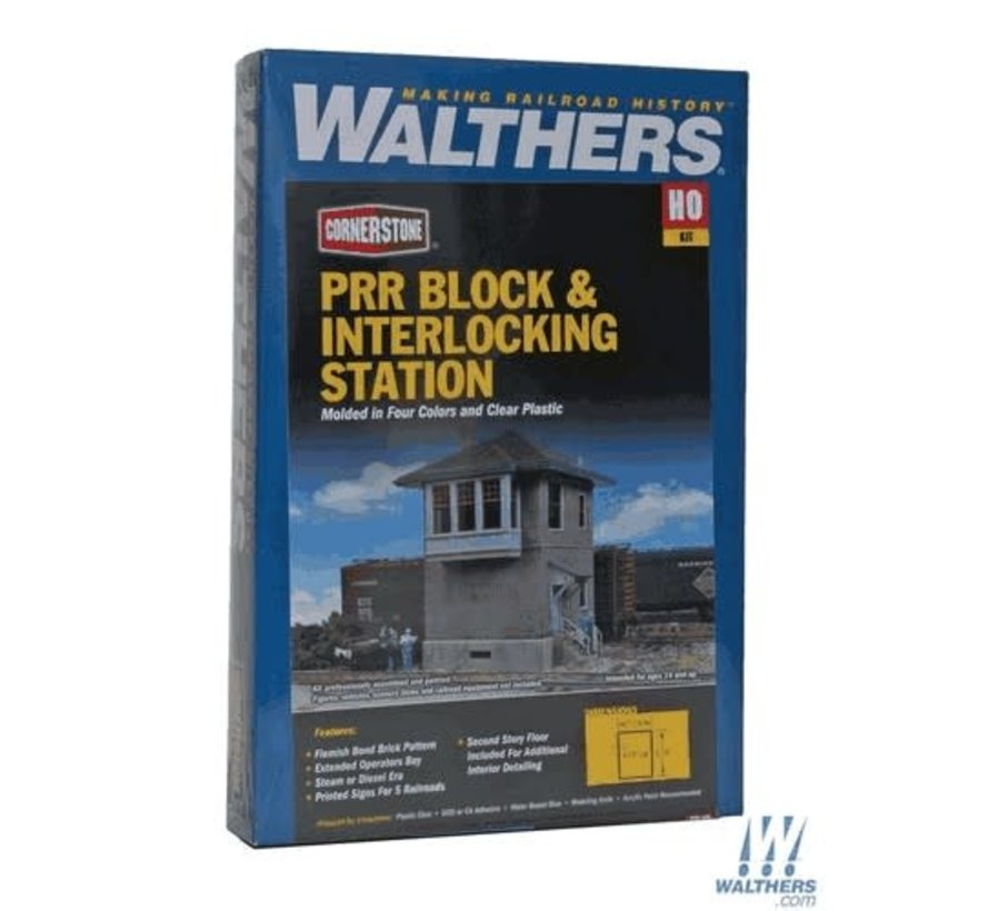 Walthers : HO PRR interlocking Tower
