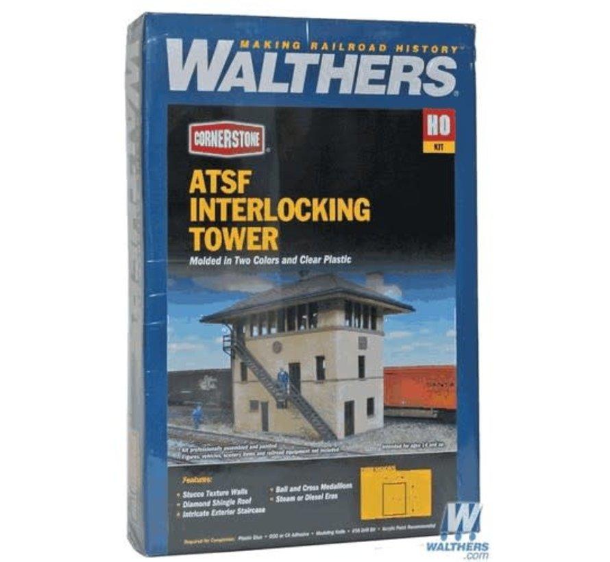 Walthers : HO ATSF interlocking Tower