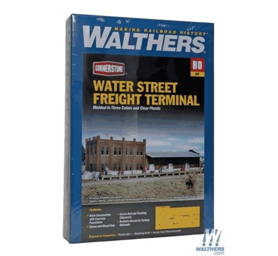 Walthers : HO Water Street Freight Term
