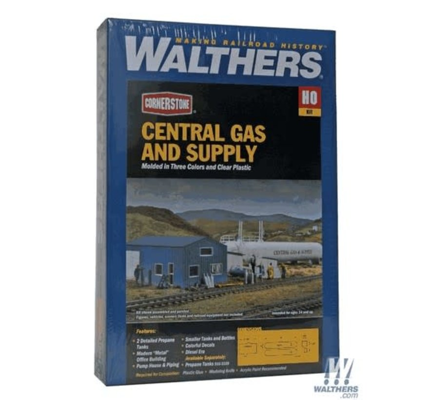 Walthers : HO Central Gas & supply