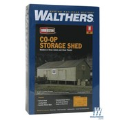 WALTHERS Walthers : N COOP Storage Shed