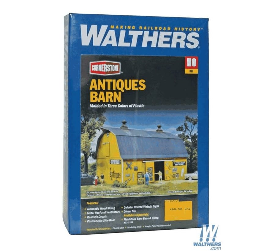 Walthers : HO Antique Barn