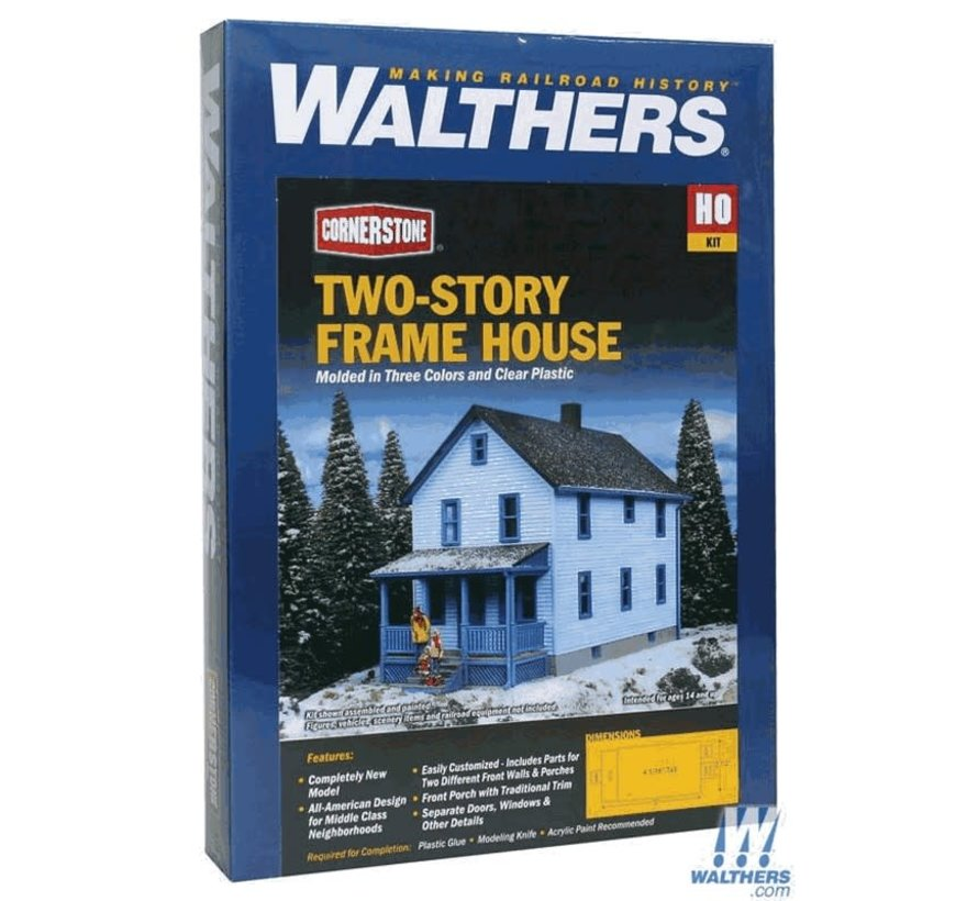 Walthers : HO 2-story Frame house