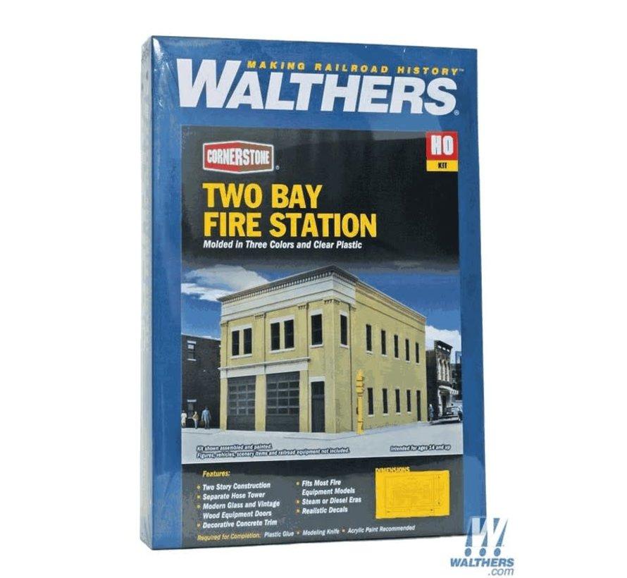 Walthers : HO Fire station