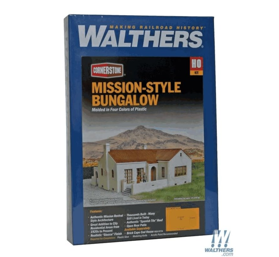Walthers : HO Mission Bungalo