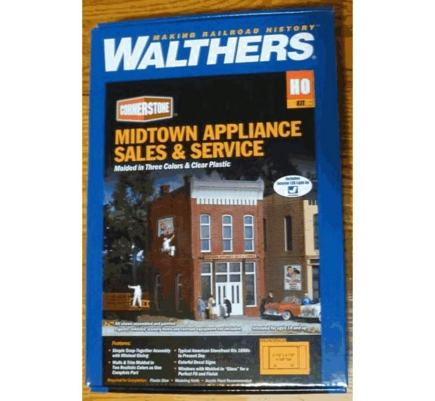 Walthers : HO Midtown Appliance