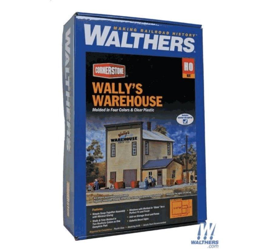 Walthers : HO Wally's Warehouse