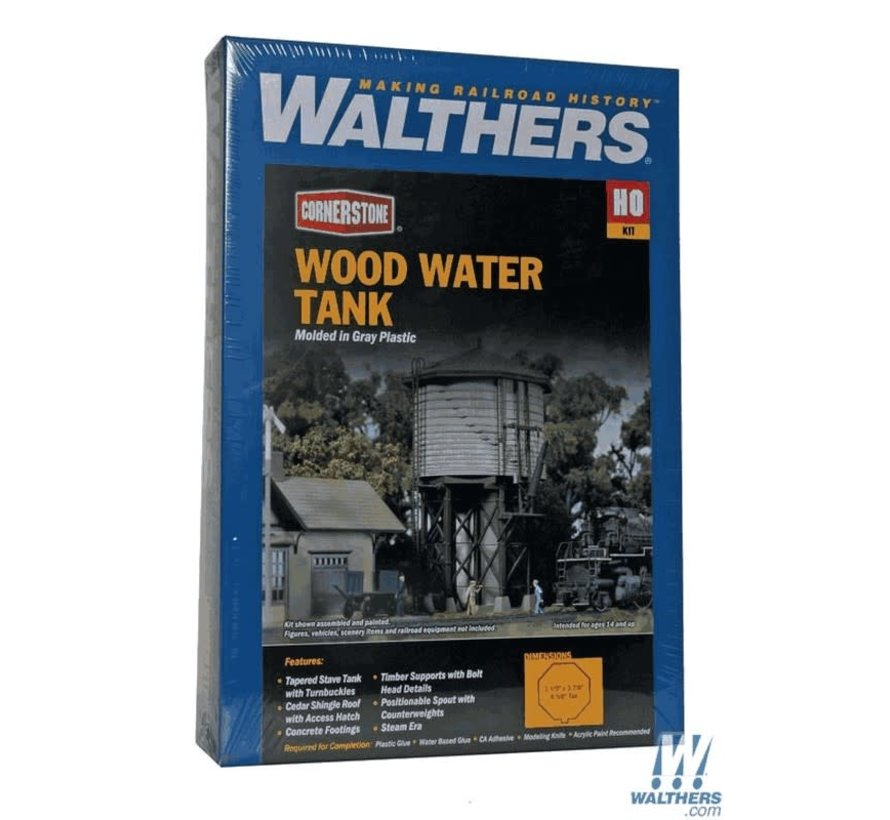 Walthers : HO Wood Water Tank