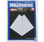 WALTHERS WALT-933-1042 - Walthers : HO DT Truss Brdg Abtmnt Wngs