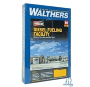 WALTHERS WALT-933-2908 - Walthers : HO Diesel Fueling Facility